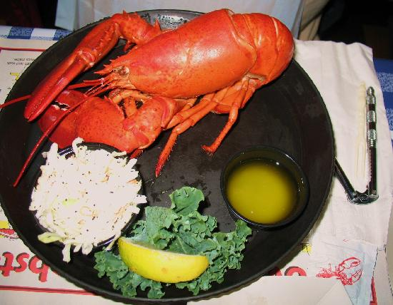 Lobster anyone? - Kalers in Boothbay Harbor
