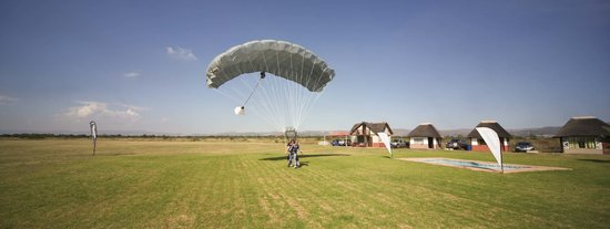 Tandem Landing at SkyDive Rustenburg