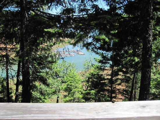 Trinity Lake Resorts & Marinas: Lake view from our deck