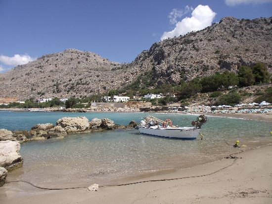 Lardos, Grèce : Local beach
