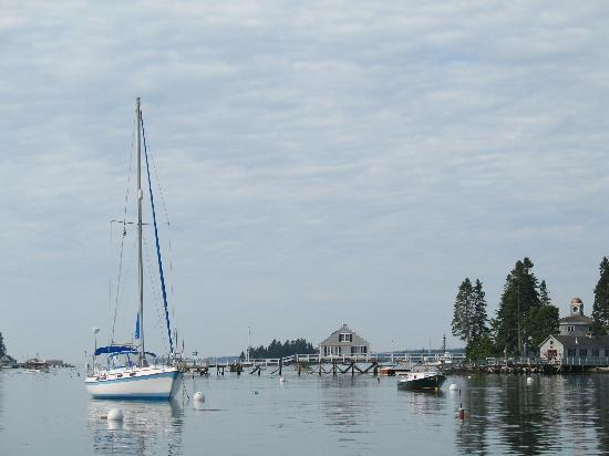 Calm after the storm in Boothbay Harbor Maine June 2010