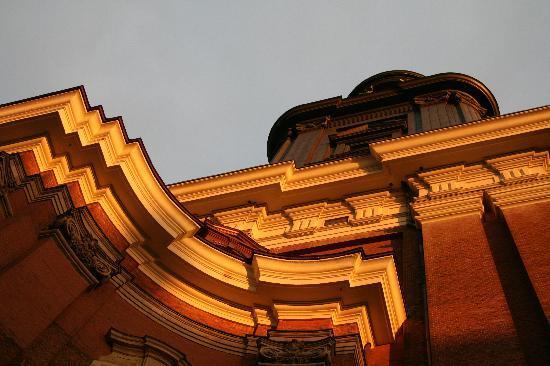 Church of St. Michael: orange