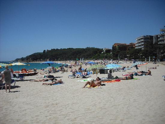H·TOP Royal Beach: Again the beach 2 mins from hotel