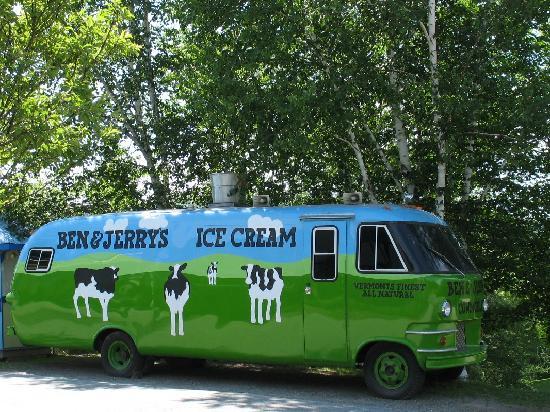 Ben & Jerry's Ice Cream bus, Waterbury VT