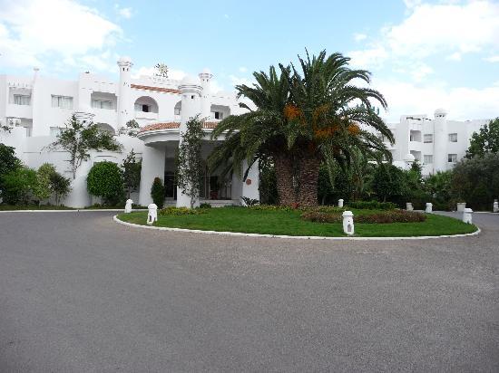 Hammamet Garden Resort & Spa: entrée du Hammamet garden