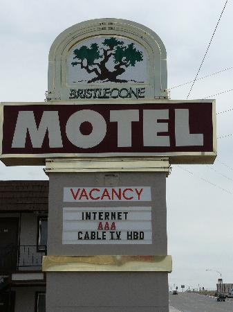 Bristlecone Motel: In-room coffee, pets ok