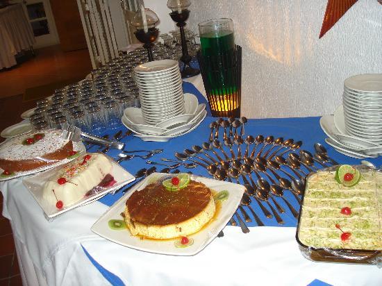 Hotel Casablanca: Postres_buffet