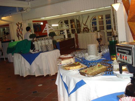 هوتل كازابلانكا: buffet
