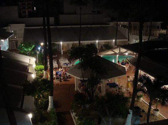 Hotel Casablanca : vista desde la habitación