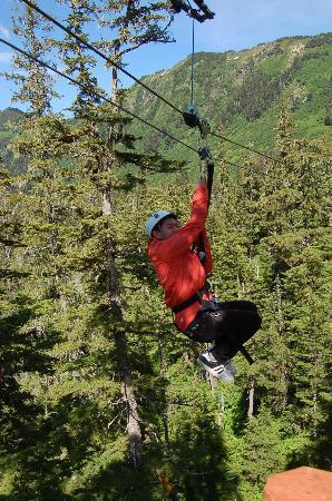Alaska Zipline Adventures: zipline