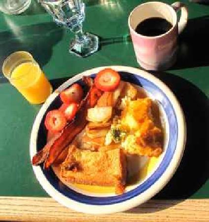 The Aurora Express: Yummy Breakfast