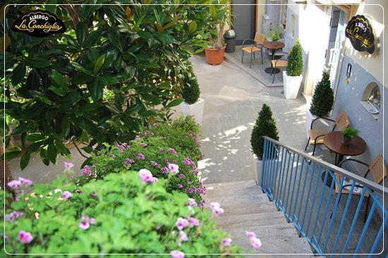 Albergo La Conchiglia: Hotel centrale a due passi dal porto.