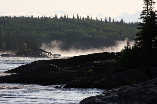 Wood Buffalo National Park: Mountain Rapids