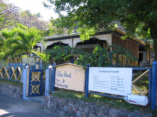 Blue Bead Bar & Restaurant: Entrance 2