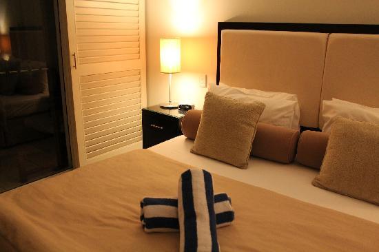 Peppers Beach Club & Spa : bed
