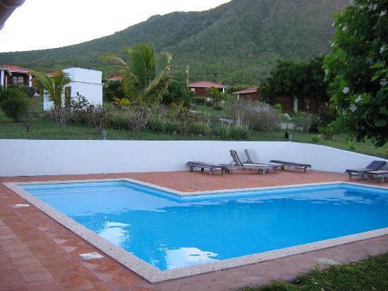 Statia Lodge : The pool