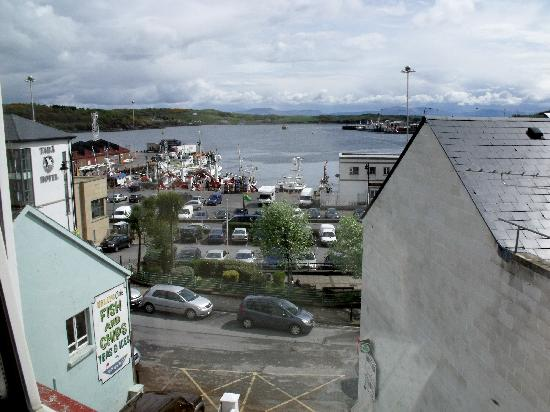 Seawinds B&B: View from the room of Killybegs harbor