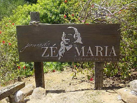Pousada Ze Maria: entrada para a pousada