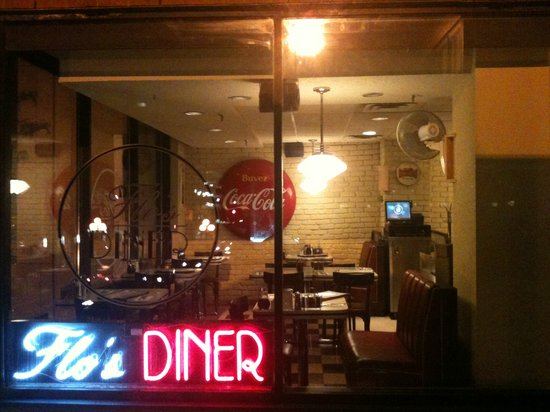 Photo of American Restaurant Flo's Diner at 70 Yorkville Ave, Toronto M5R 1B9, Canada