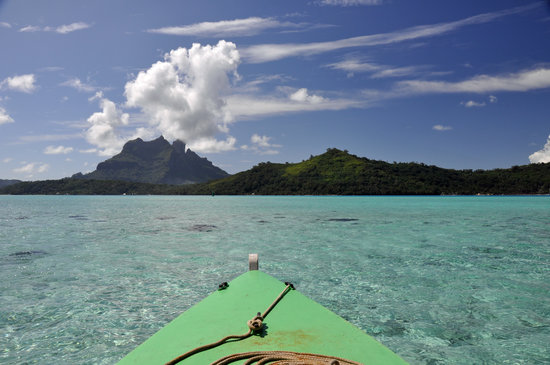Bora Bora, French Polynesia:                   Kayaking