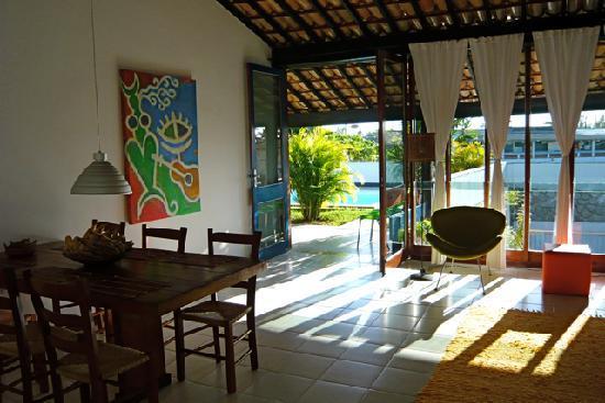 Casa Alegria: Sala de Visita / Living Area