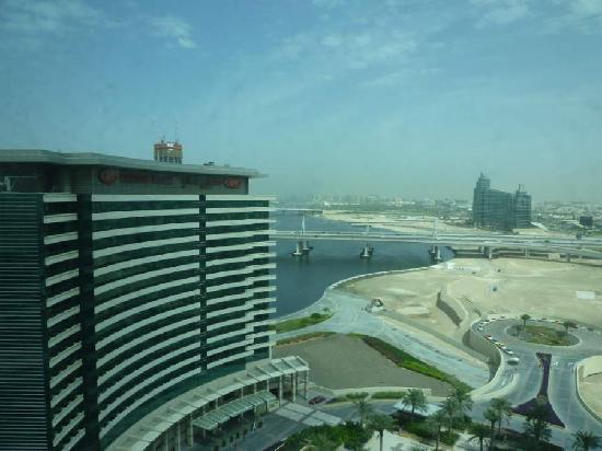 InterContinental Dubai Festival City: View from bedroom