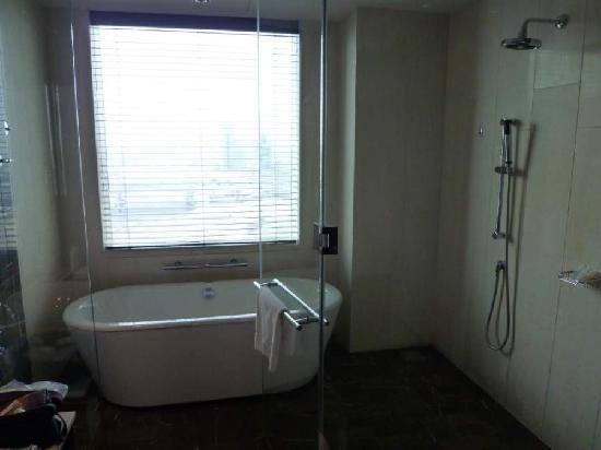 InterContinental Dubai Festival City: Junior Suite wetroom