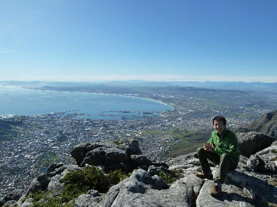 Cape Town Seamore Express Tours and Guesthouse: seeing Cape Town from table mountain