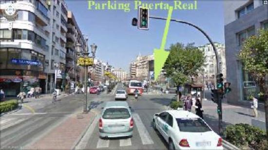 Plaza Puerta Real Car Park Granada