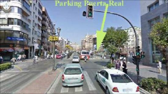 Granada parking guide granada tripadvisor - Parking plaza puerta real en granada ...