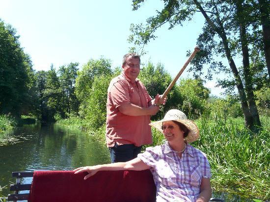 Luebbenau, Germany: Kahntour mit Mario Weber, kleiner-hafen@web.de