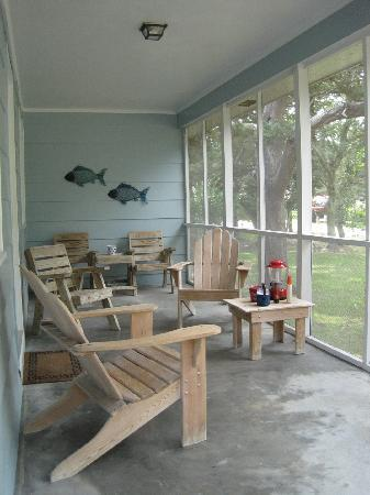 Pony Island Motel : Pony #2 has two large screened porches