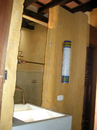 La Casa: waschtrog mit lampe