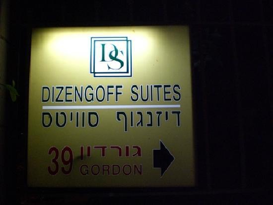 Dizengoff Suites: Strassenansicht