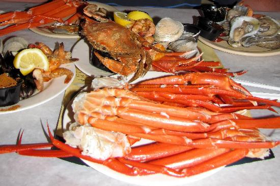 some of the food from the buffet picture of phillips crab house rh tripadvisor com ocean city tokyo seafood buffet ocean city seafood buffet bonfire