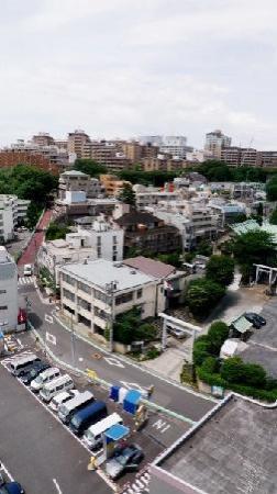 APA Hotel Nishi Azabu : outside the hotel