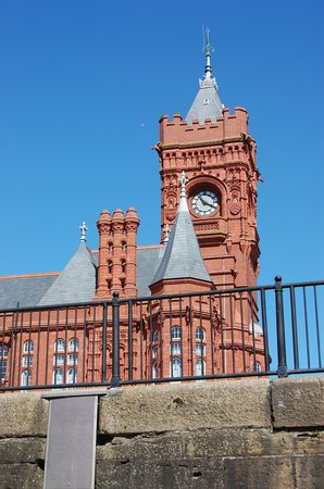 Cardiff, UK : The Pierhead Building