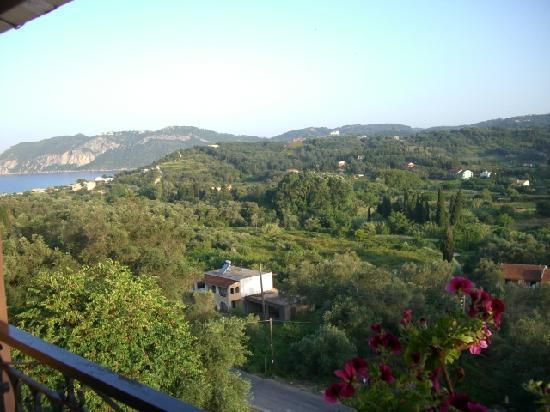 Agios Georgios, Greece: A balcony view