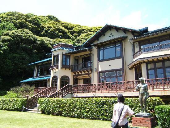 Kamakura Museum of Literature: ハーフティンバー素敵な洋館