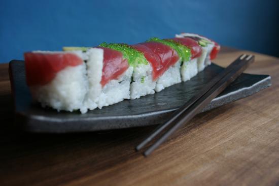 SOHO: Sushi inside out roll
