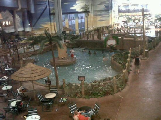 Kalahari Resorts & Conventions: A small section of the indoor waterpark