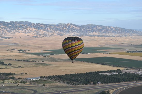 Balloons Above the Valley: Beautiful views!