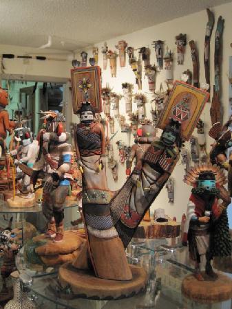 Western Spirit Enrichment Center: Hopi Kachina at Kachina House in Sedona
