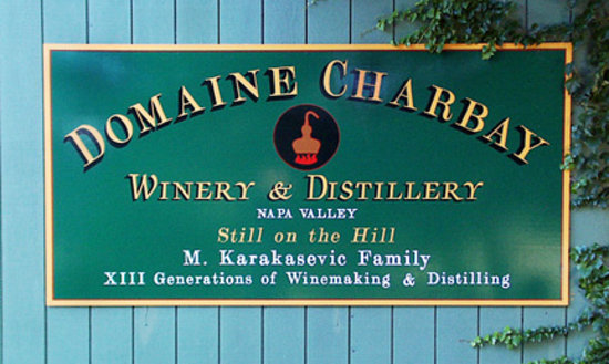Charbay Winery & Distillery: Feels very European, a famiy run winery & distillery