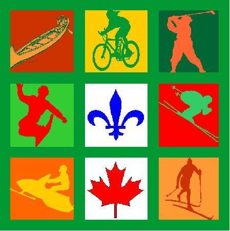 هوتل - موتل لو بواس دو لاك: logo du Boisé du lac