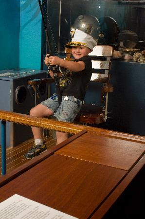 Santa Barbara Maritime Museum: Catch the big one with our fishing simulator