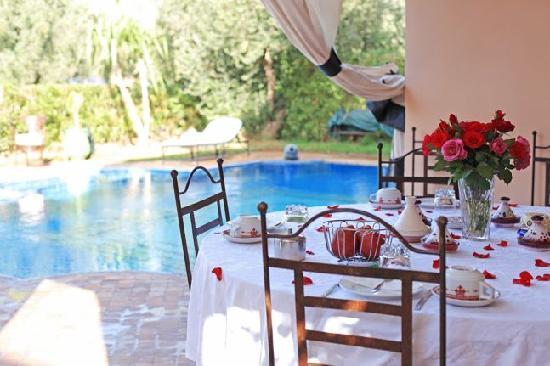 Villa Abalya: une des terrasse