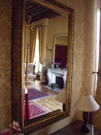 Chambre 17 dite louis xiii photo de chateau de marechal for Chambre louis 13