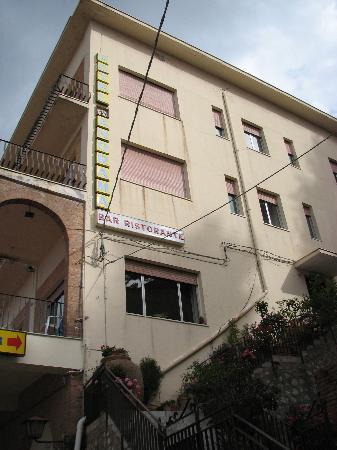 Castelmola, อิตาลี: hotel etrance