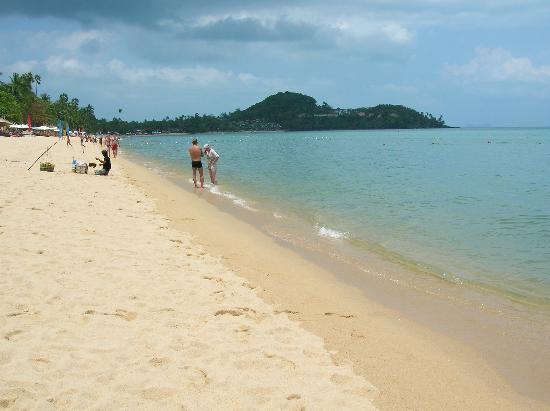 Bandara Resort & Spa: The beach